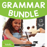 Grammar Practice for 3rd-6th Grade: Grammar Bundle | Grammar Worksheets