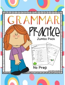 Grammar Practice - Jumbo Pack - Print and Go
