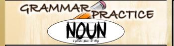 Grammar Practice - List of Nouns Challenge