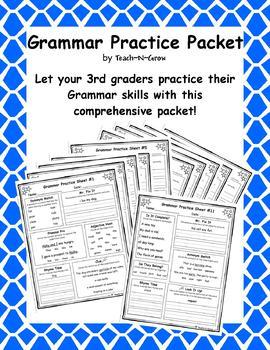 Grammar Practice Packet