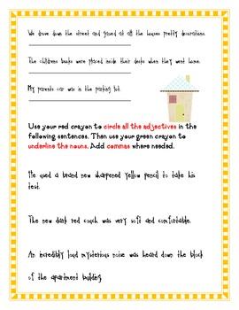 Grammar Practice Treasures Grade 4 Unit 2 Week 5 Mystic Horse