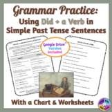 Using Did and a Verb in Simple Past Tense Sentences Gramma