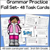 Grammar Practice Winter Set 3rd-5th Grade