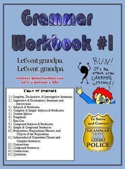 Grammar Practice Workbook #1