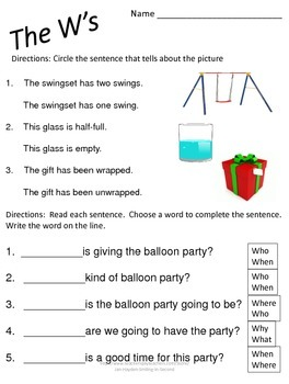 Grammar Practice Worksheets, Printables Literacy Center