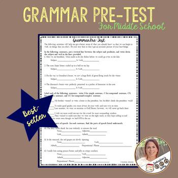 Grammar Pre-test