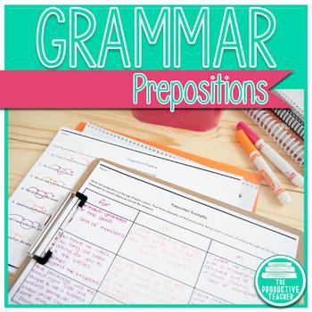 Grammar: Prepositions