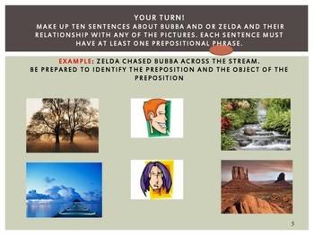 Grammar PowerPoint & Activities: Prepositions PowerPoint