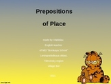 Grammar - Prepositions of Place