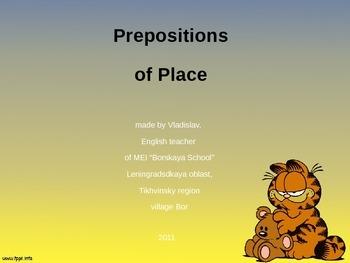 Grammar - Prepositions of Place