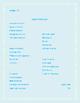 Grammar - Prepostional Phrase Poetry