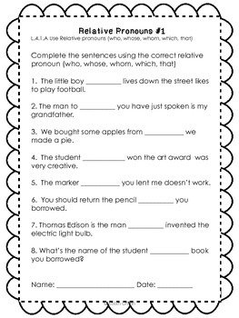 Grammar Printables Bundle