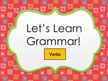 Grammar Product (Verbs)
