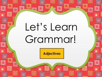Grammar Product (Adjectives)