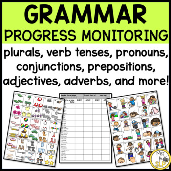 Grammar Progress Monitoring Probes K-6
