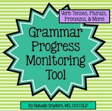 Grammar Progress Monitoring Tool for Speech Language Therapy (Lower Level)