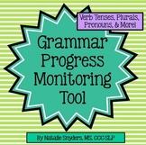 Grammar Progress Monitoring Tool for Speech Language Thera
