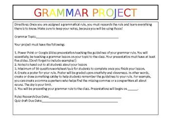 Grammar Project