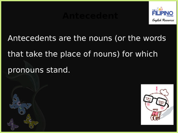 Grammar: Pronoun and Antecedent Agreement