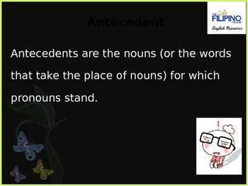 Grammar: Pronoun and Antecedent Agreement