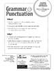 Grammar & Punctuation, Grade 1