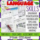 3rd Grade Grammar and Language Activities