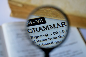 Grammar, Punctuation and Spelling