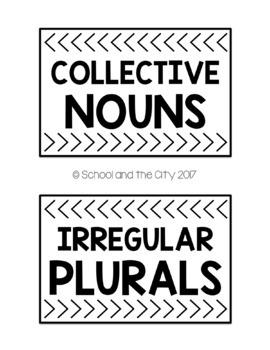 Grammar Puzzle Storage Covers