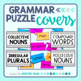 Grammar Puzzle Storage Covers