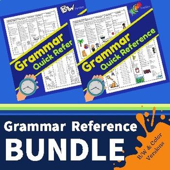 Grammar QUICK Reference BUNDLE