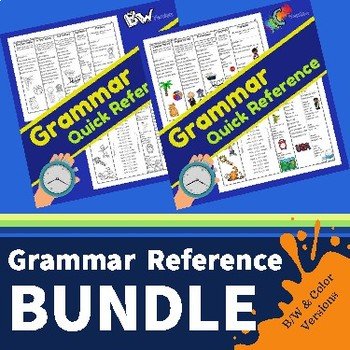 Grammar QUICK Reference BUNDLE