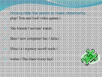 Grammar Quick: Complete Sentences (Subject and Predicate)