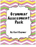 Grammar Quiz Pack (Nouns, Verbs, Pronouns, Adjectives, Punctuation)