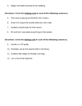 Grammar Quizzes [EDITABLE]