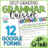 Grammar Quizzes Google Forms 4th Grade Distance Learning