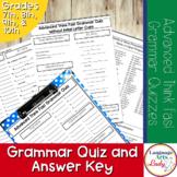Advanced Grammar Quizzes With Answers   Advanced Grammar Drills