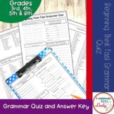 Grammar Quizzes With Answers  | Beginning Grammar Drills