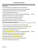 Grammar: Quotation Marks and Italics Worksheet