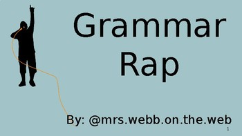 Grammar Rap - Lyrics Presentation