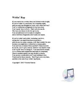 Grammar Rap--Parts of Speech