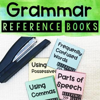 Grammar Reference Books - Commas, Pronouns, Parts of Speech, etc.