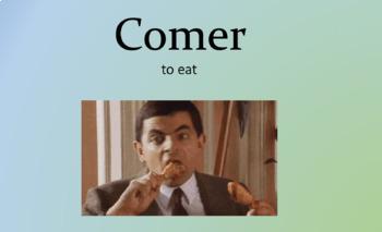 Grammar: Regular Present Tense ER/IR verbs