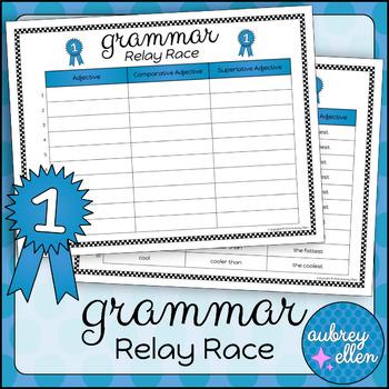 Grammar Relay Race