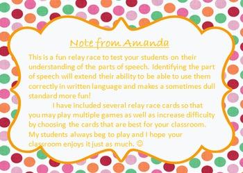 Grammar Relay Races