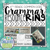 Grammar Resource Ring: Fourth Grade