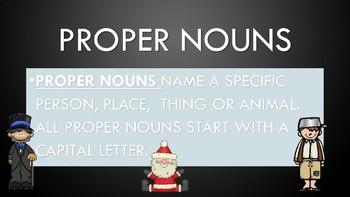 Grammar Review: Nouns, Pronouns, Verbs, Adj., Subject and Predicate