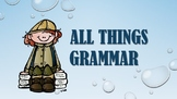 Grammar Power point: Nouns, Pronouns, Verbs, Adj., Subject and Predicate