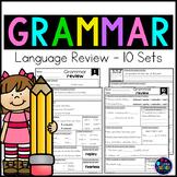Grammar Worksheets - Grammar Review Packet