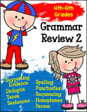 Grammar Review 2 - Rules & Words (PRINT AND GO)