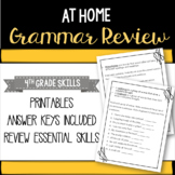 Grammar Review Packet - Distance Learning Resource
